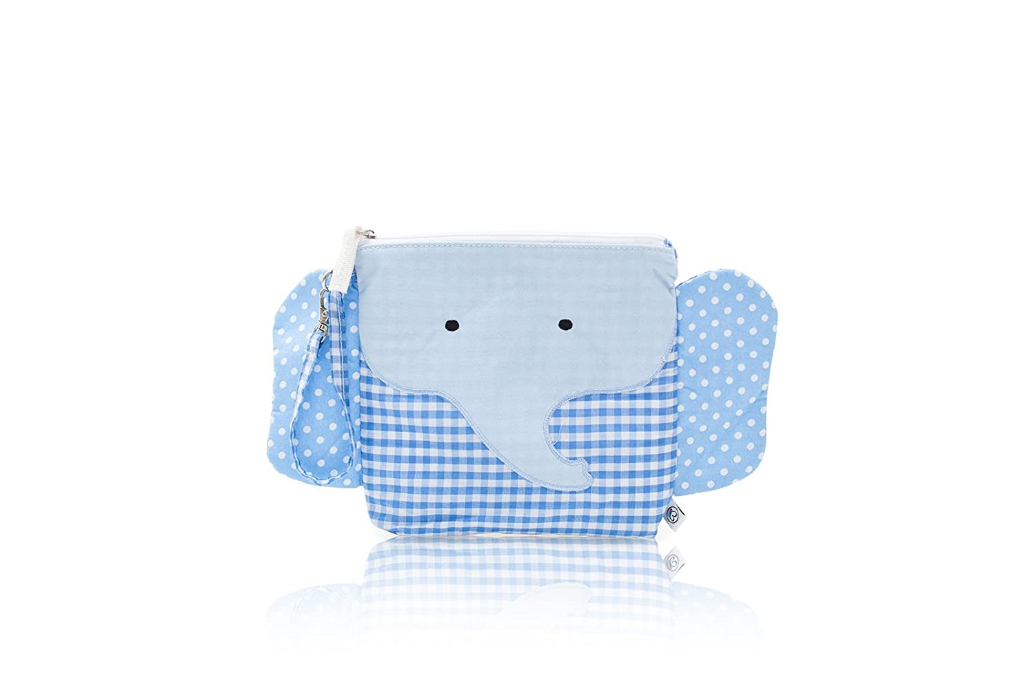 Nikiani My First Buddies Snack Bag - Charlie Blue Elephant by Nikiani Inc   B00Q7K6KZQ