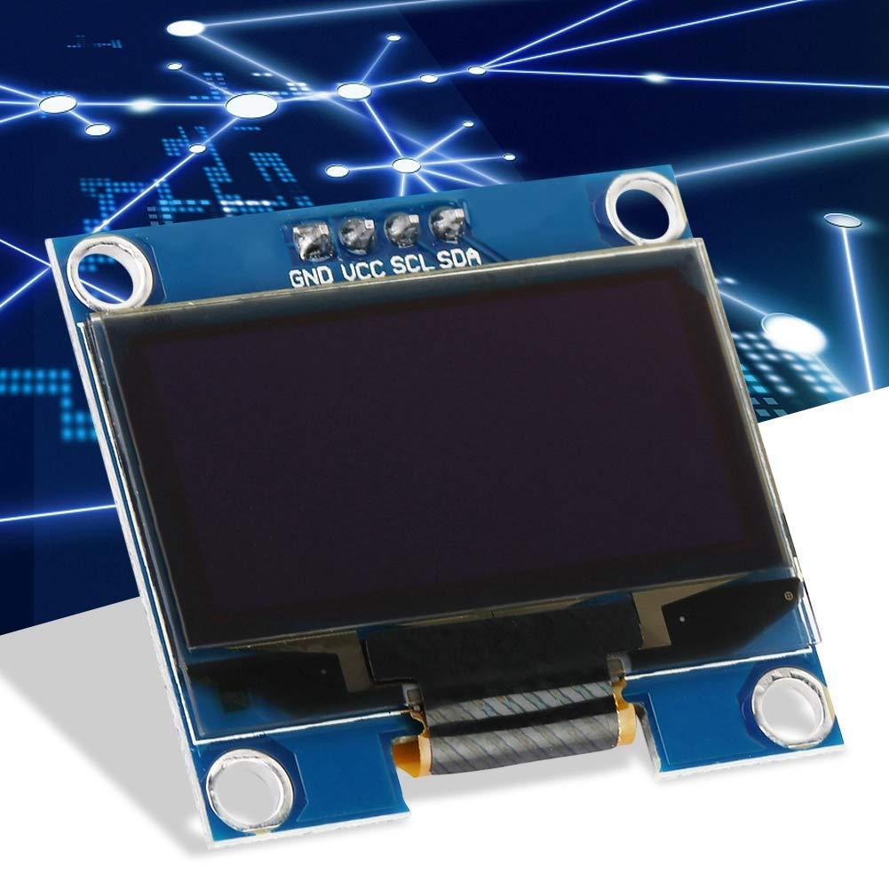 1pc 1.3 pouces Module daffichage OLED 128X64 OLED /écran daffichage LCD avec pilote SSD1306 pour Raspberry Pi et microcontr/ôleur