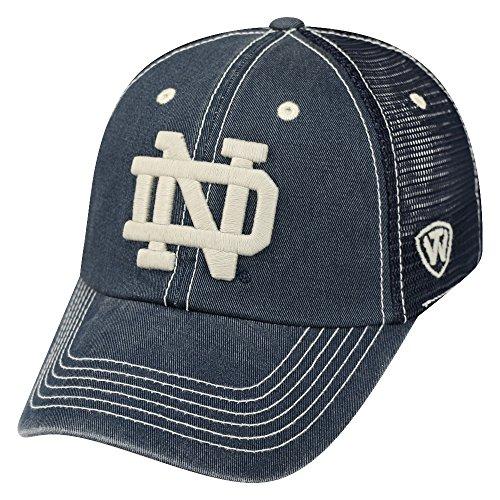 "Notre Dame Fighting Irish Top of the World ""Crossroad"" Adjustable Mesh Back Hat"