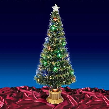 Beautiful 6ft 180cm Green Fibre Optic Christmas Tree: Amazon.co.uk ...