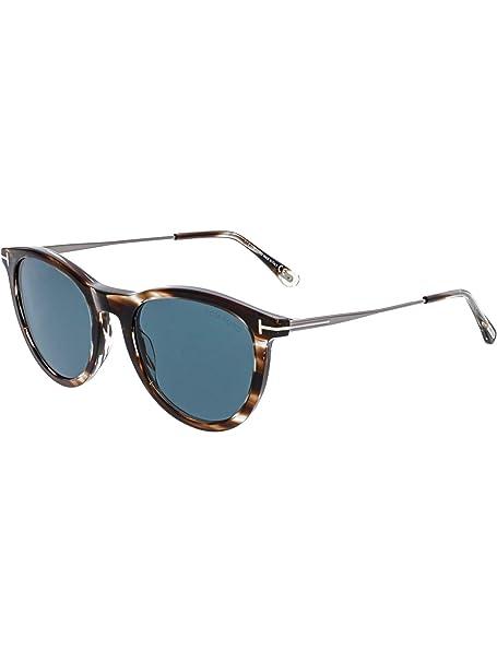 Tom Ford FT0626 50W 53 Gafas de Sol, (Marrone Scuro), Unisex ...