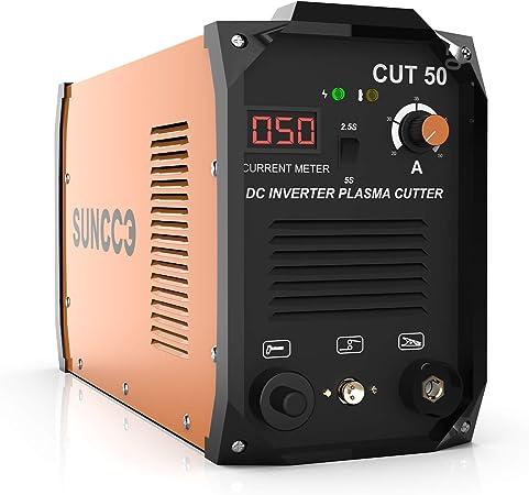 SUNCOO Plasma Cutter, Portable Pro. Cut 50