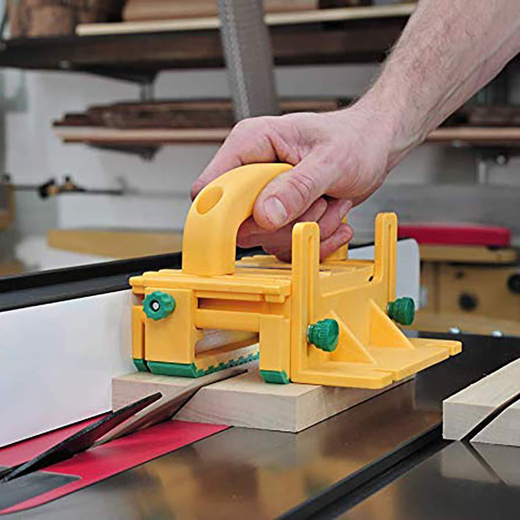 Sicherheit Pushblock Holzbearbeitungswerkzeug für Tischkreissägen Frästische Neu