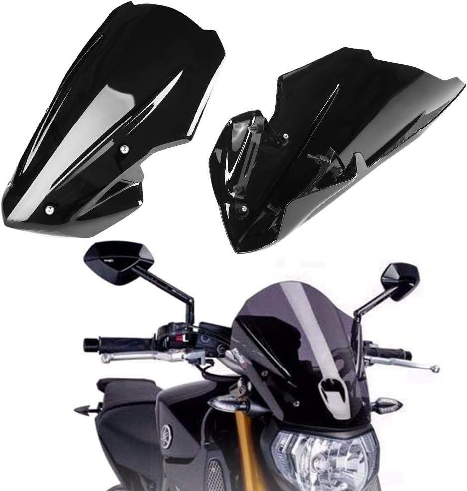 1 PC del deflector de viento del parabrisas del parabrisas de la motocicleta para Kawasaki Z900 2017-2018. Deflector de viento