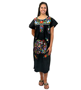 61e2ec9f910 Leos Imports (TM) Mexican Dress Tehuacan at Amazon Women s Clothing ...