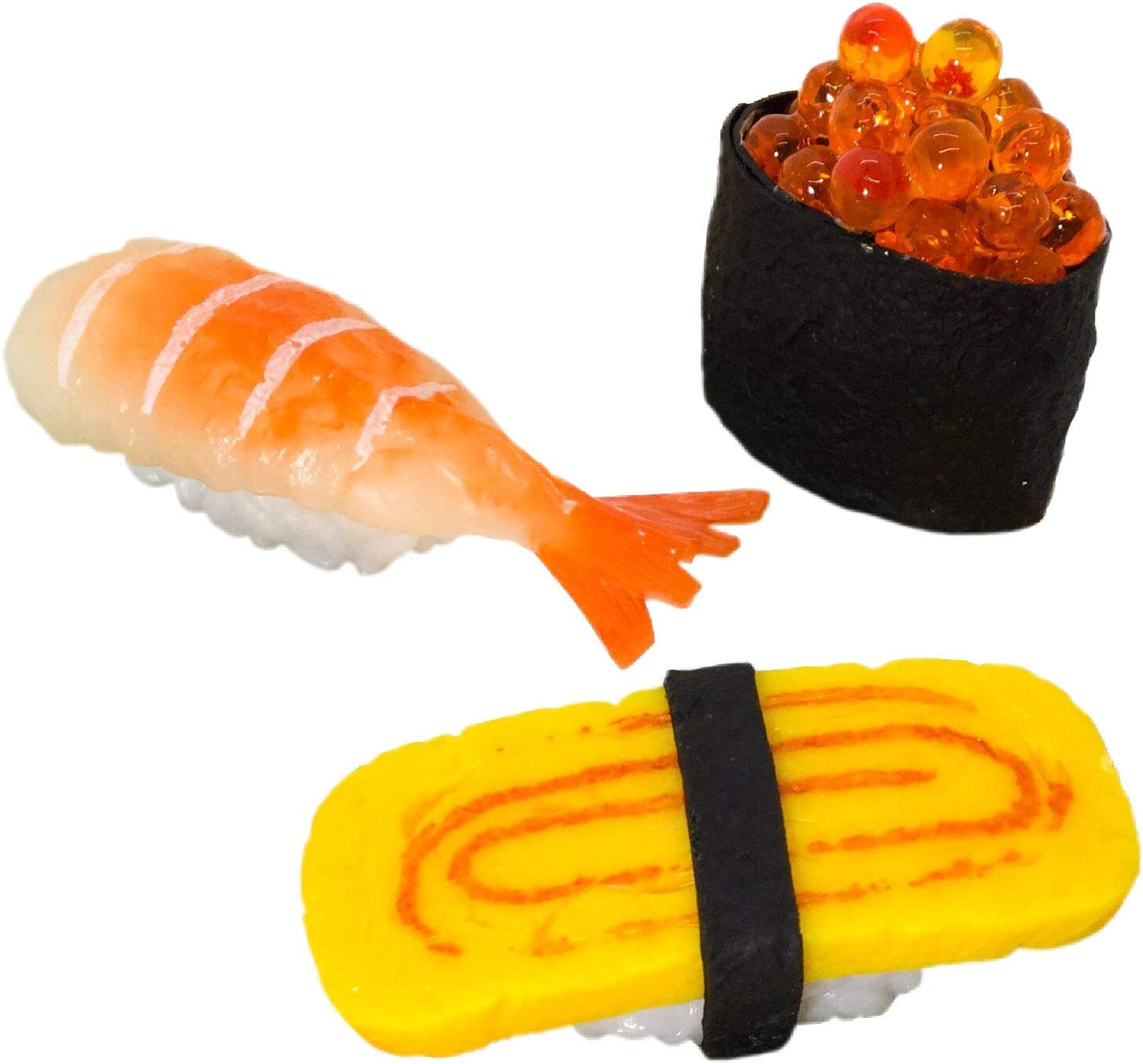 Sell Phone Charm Artificial Food Japanese Food Sushi Decoration 3 PCS
