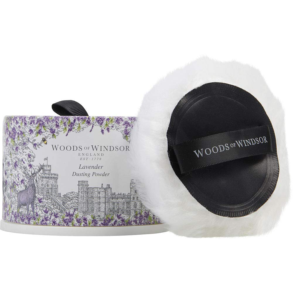 WOODS OF WINDSOR LAVENDER by Woods of Windsor DUSTING POWDER 3.5 OZ for WOMEN ---(Package Of 4)