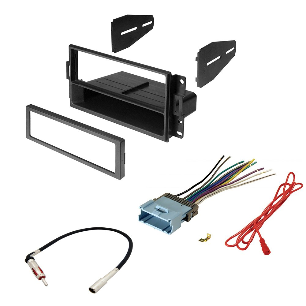 Amazon.com: CAR STEREO RADIO CD PLAYER RECEIVER INSTALL MOUNTING KIT RADIO  ANTENNA PONTIAC GRAND PRIX 2004 - 2008: Car Electronics