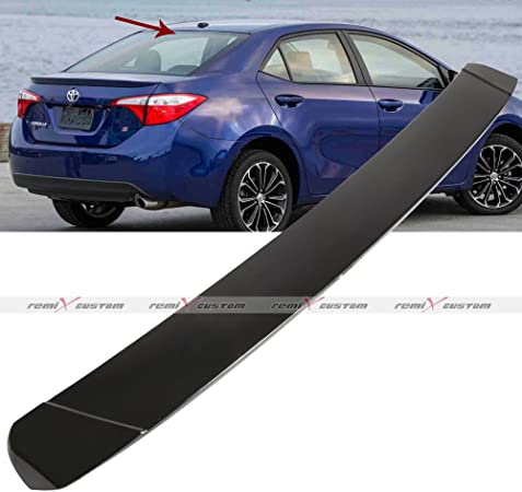 cciyu Black ABS Rear Stylish Trunk Spoiler Wing Accessories for ...