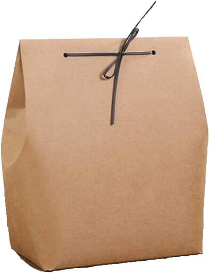 Cajas de regalo de 4 colores, caja de embalaje de papel kraft, caja de embalaje para ropa, bufandas, toallas, camisetas, 10 unidades por lote, Fuerza, 180x115x245mm: Amazon.es: Oficina y papelería