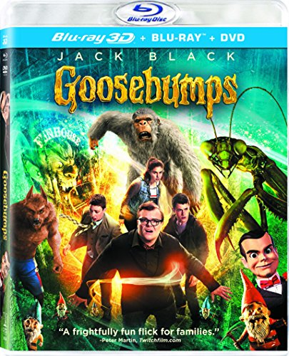Jackal Halloween Mask (Goosebumps (3D Blu-ray + Blu-ray + DVD +)