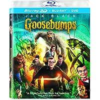 Goosebumps 3 Discs Blu-ray/DVD/UltraViolet Combo Pack