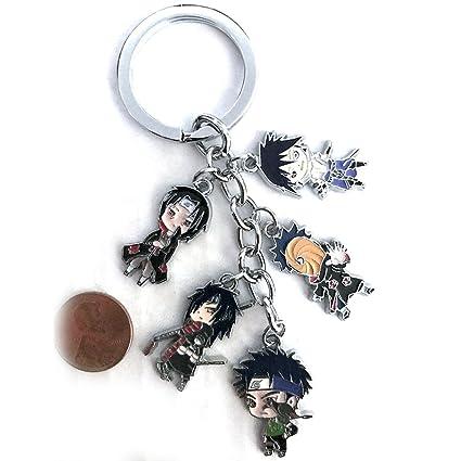 Anime Naruto Character llavero Sasuke Madara Itachi, Hokage ...