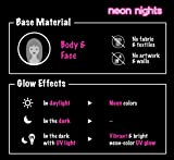 neon nights 8 x UV Body Paint Black Light Make-Up