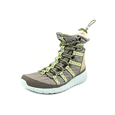 ec011731348b Nike Roshe Run Hi Sneakerboot Print Womens Gray Sneakers Shoes Size UK 3   Amazon.co.uk  Shoes   Bags