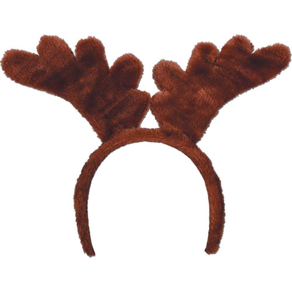 168 Reindeer Antlers Party Accessory Christmas Hat Costume Fun by Beistle