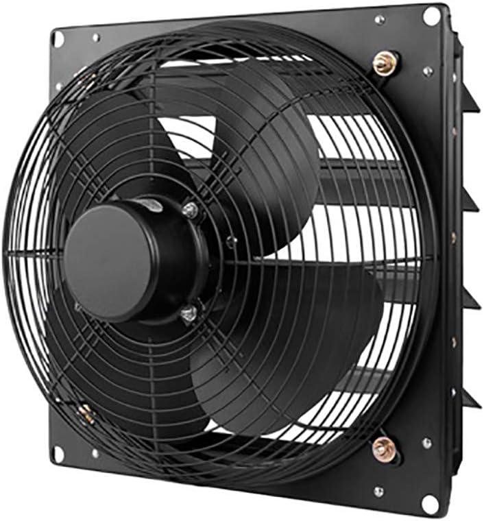 Ventilador Extractor, Extractor de Aire De Gran Desplazamiento con Persianas Eléctricas Protección contra Insectos y Lluvia, para El Hogar, Baño, Cocina, Garaje, Ventilación de Aire