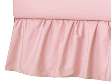Soft Breathable Blue TL Care 100/% Natural Cotton Percale Crib Bed Skirt for Boys and Girls