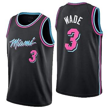 buy popular b161c 9a5ee New Basketball Uniform, Miami Heat, No. 3, Wade, Jersey ...