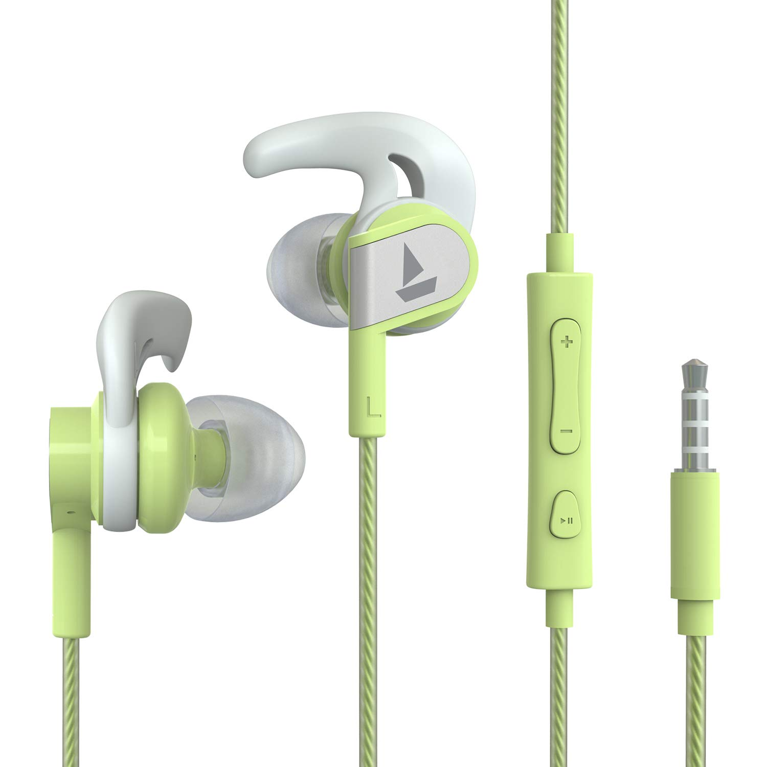 Boat Bassheads 242 Wired Sports Earphones with HD Sound, 10