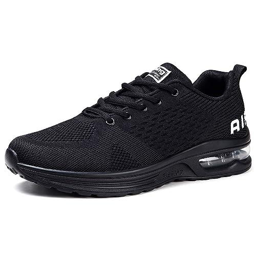 Amazon.com: Zapatillas de correr para mujer con cojín de ...