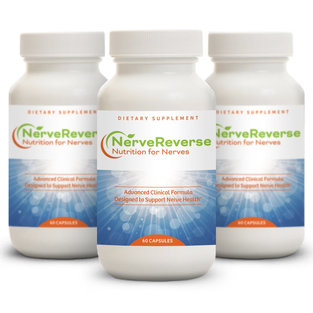 NerveReverse - Neuropathy Support Formula 3 Month Supply