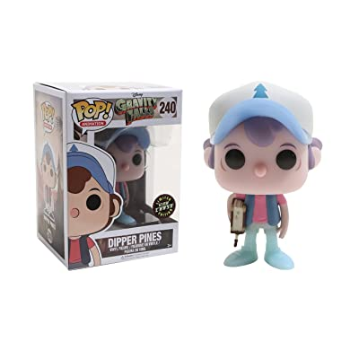 "FunKo POP! Animation Gravity Falls Dipper Pines 3.75"" VARIANT CHASE Vinyl Figure: Toys & Games"