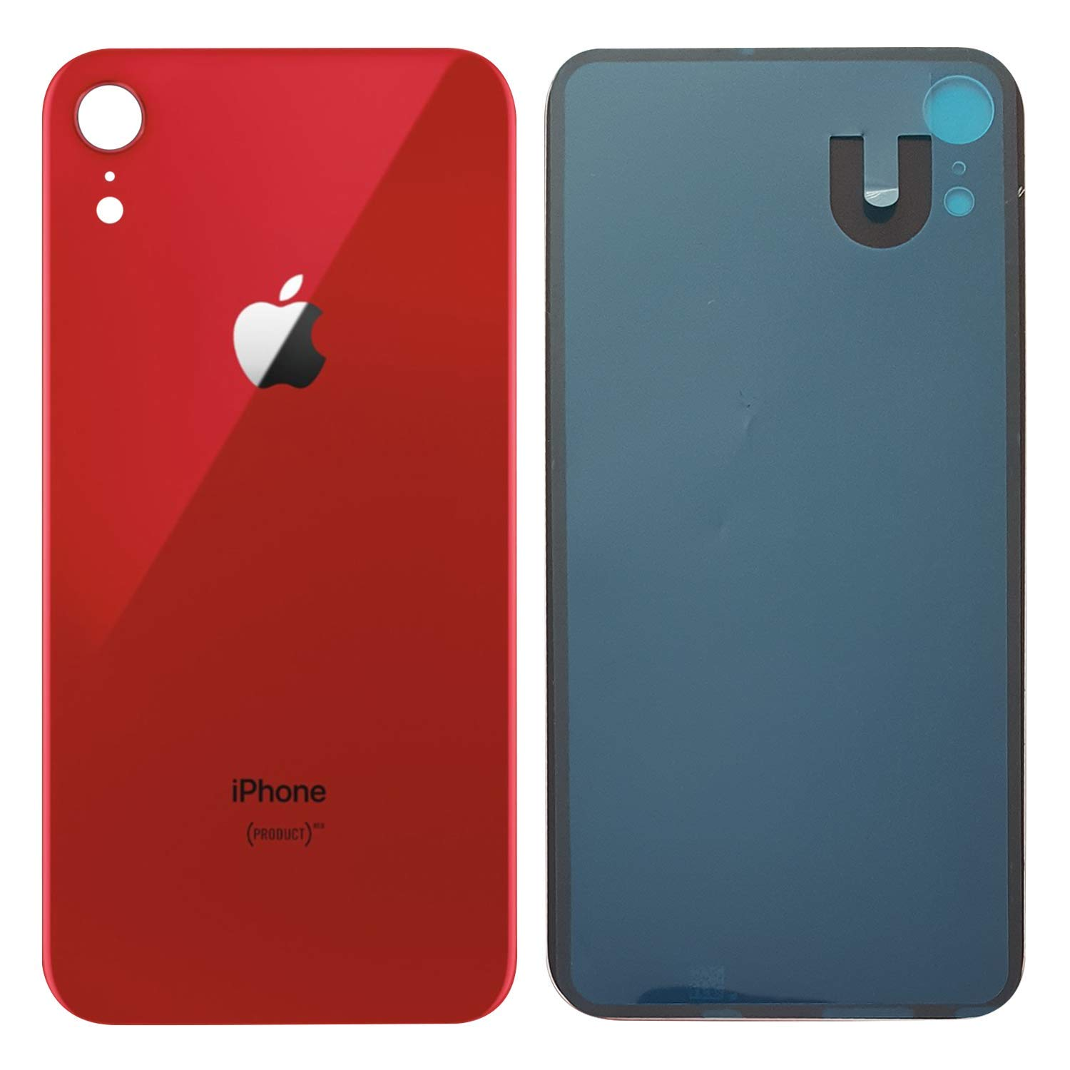 premium selection 0be56 2a124 Amazon.com: Apple iPhone XR Replacement Back Glass Cover Back ...
