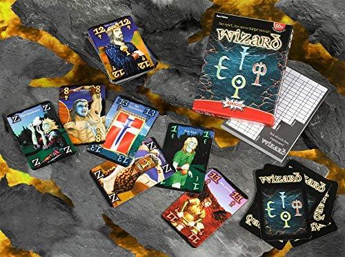 Amigo Spiele - Juego de Cartas Wizard, 3 hasta 6 Jugadores (6900) (versión en alemán): Amazon.es: Juguetes y juegos