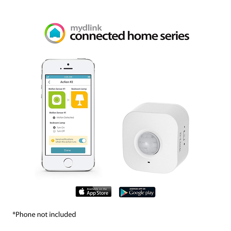 D-Link DCH-S150 mydlink Wi-Fi Smart Motion Sensor (Renewed) - - Amazon.com