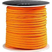 Macramé Cord, Thickness 4 mm, Neon Orange, 5 M