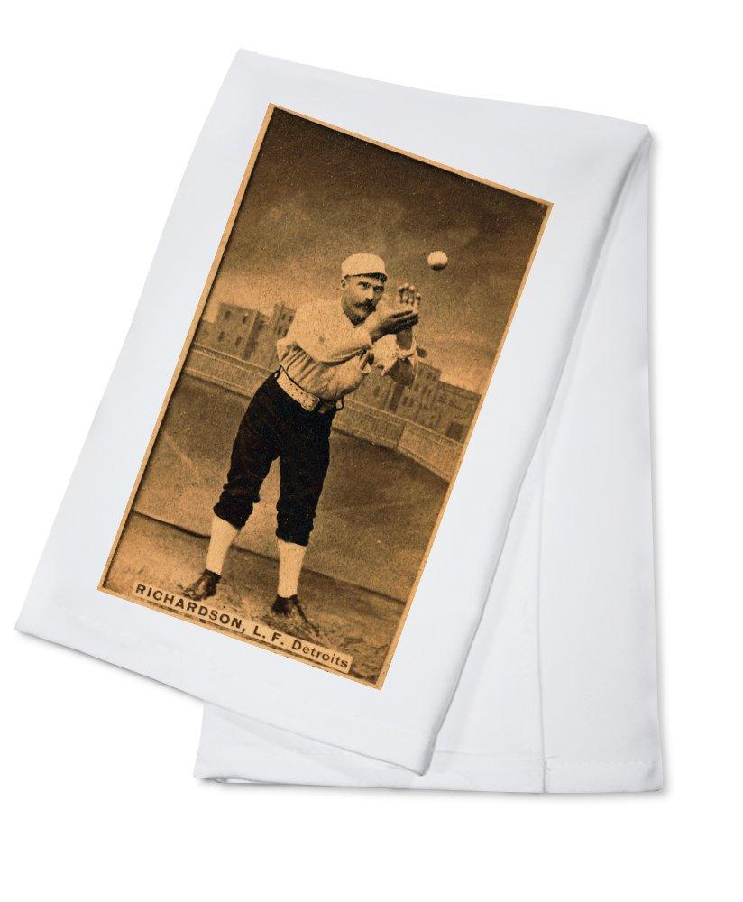 デトロイトWolverines – Hardy Richardson – 野球カード Cotton Towel LANT-22430-TL B0184BQPQE  Cotton Towel