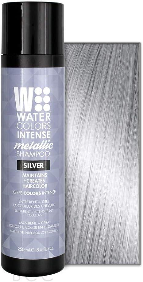 Tressa Watercolors Metallic Intense Shampoo To Freshen Color