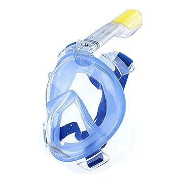 C.N. Máscara de snorkel CN, 180 ° de visión amplia, máscara de snorkel de