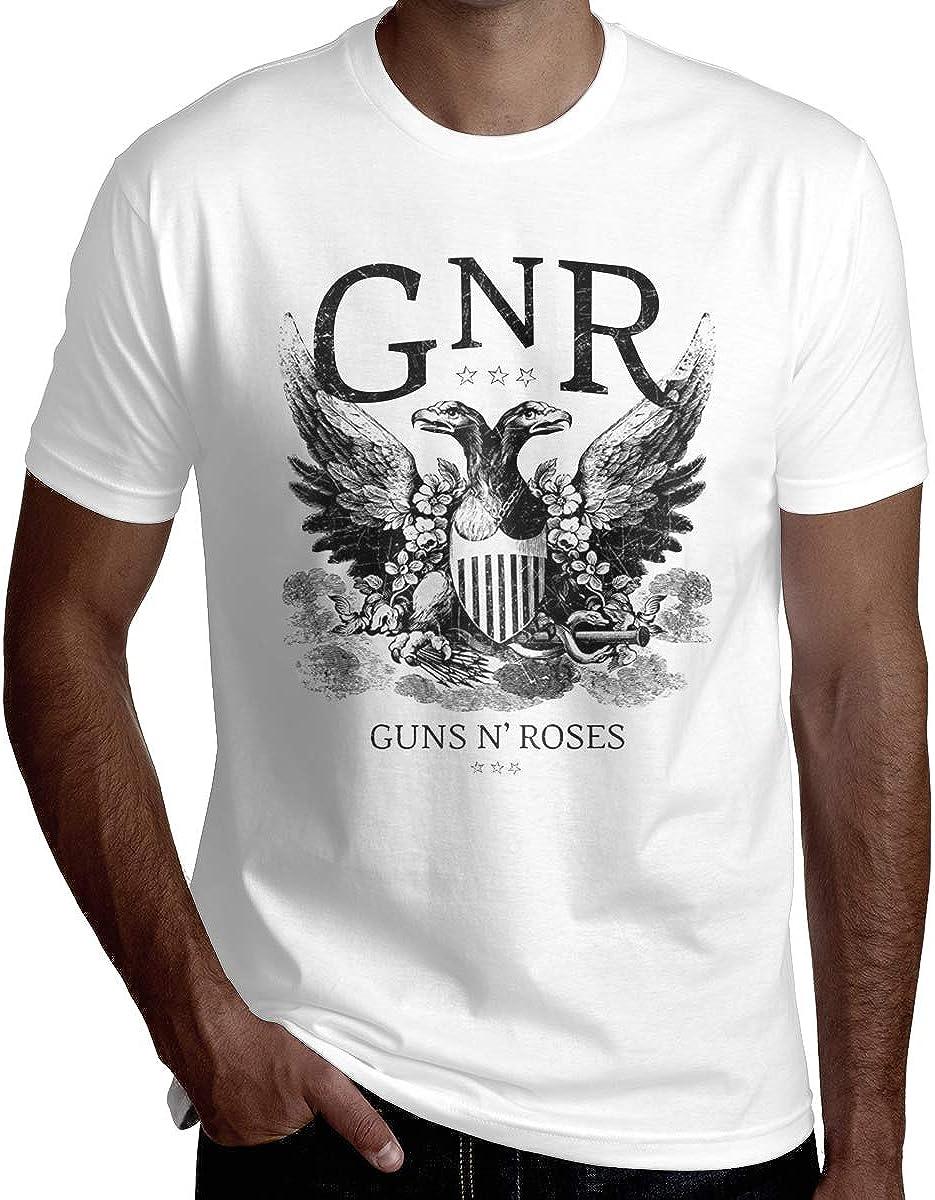 Fashion Guns N Roses Two-Headed Eagle Tshirts for Boys Black