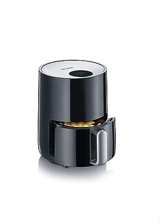 Severin FR 2455 Freidora por Aire compacta, 900 W, 1.8 litros, Negro y plata: Amazon.es: Hogar