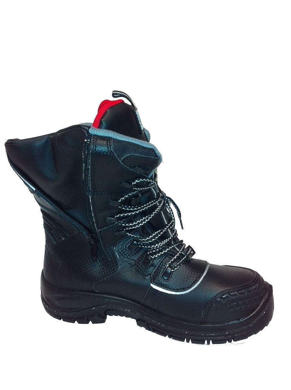 Wenaas Oilmaster 2 S3 ESD Lateral con Cremallera Botas de Seguridad, Color, Talla 30.00: Amazon.es: Zapatos y complementos