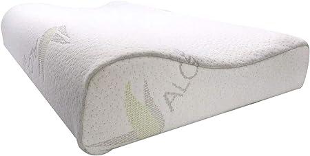 Comfort Memory Foam Pillow Orthopedic Neck Shoulder Back Support Cushion 50x30