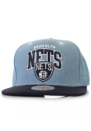 Mitchell & Ness Brooklyn Nets Chambray Arch EU182 and Snapback Cap ...