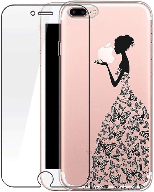 cover iphone 7 plus trasparente con disegni