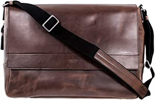 product image for Shinola East West Ladies Large Brown Leather Messenger Bag S0320041079