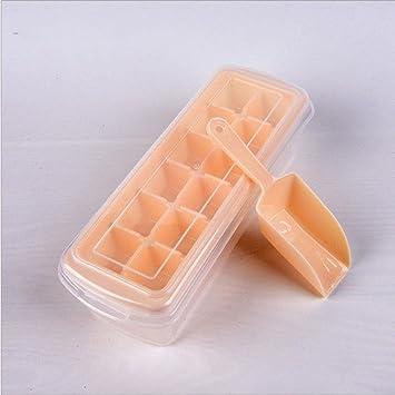 benhai Ice Cube bandejas Self-Made hielo Lattice molde frigorífico nevera portátil varios colores 7