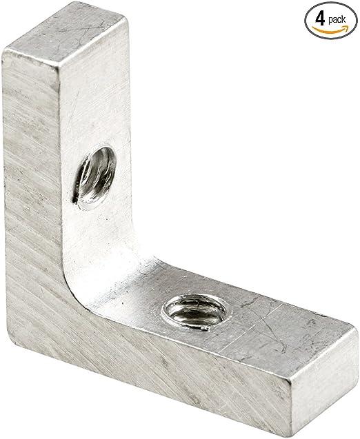 4-Pack Slide-Co 181043 5//16-Inch Storm Door Clips with T-Screw
