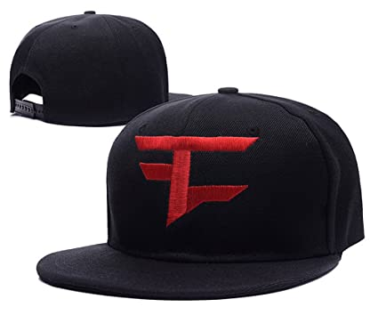 Amazon.com  Faze Clan Logo Adjustable Snapback Embroidery Hats Caps ... ea555a6a987