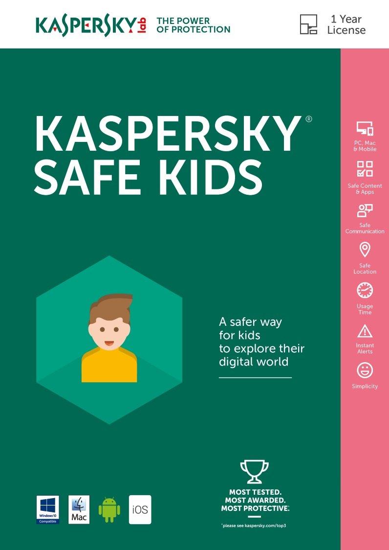 Kaspersky Safe Kids ESD [PC/Mac Online Code] by Kaspersky