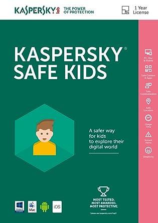 Amazon com: Kaspersky Safe Kids ESD [PC/Mac Online Code]: Software