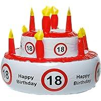 MIK funshopping Aufblasbare Geburtstagstorte 18