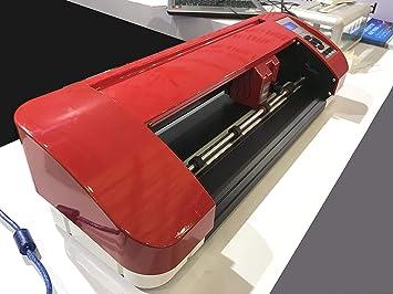 CNCOLETECH A3 A4 Cortador de Vinilo de Escritorio Plotter Sign Sticker Making Corte de Contorno y Software: Amazon.es: Electrónica