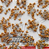 (10pf-10uf) 600pcs 30value Multilayer Ceramic Capacitor Assorted Kit Assortment Set [Waynetool]
