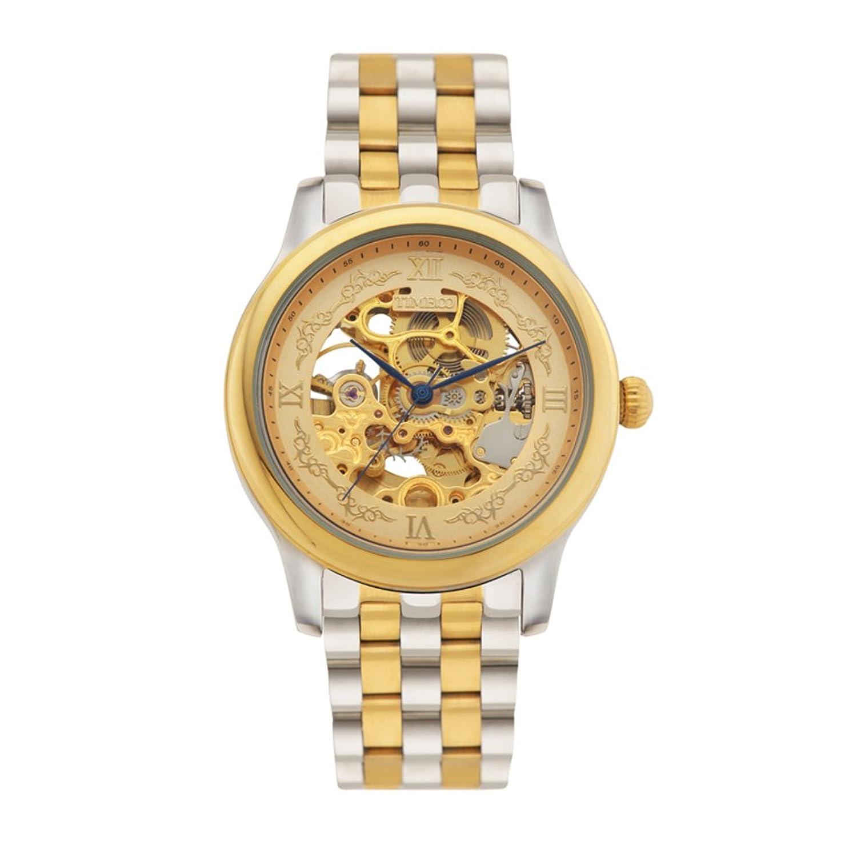 Fashion hohle mechanische Uhr-Edelstahlkette Herren-Uhr-Automatikuhren-Kinderuhren